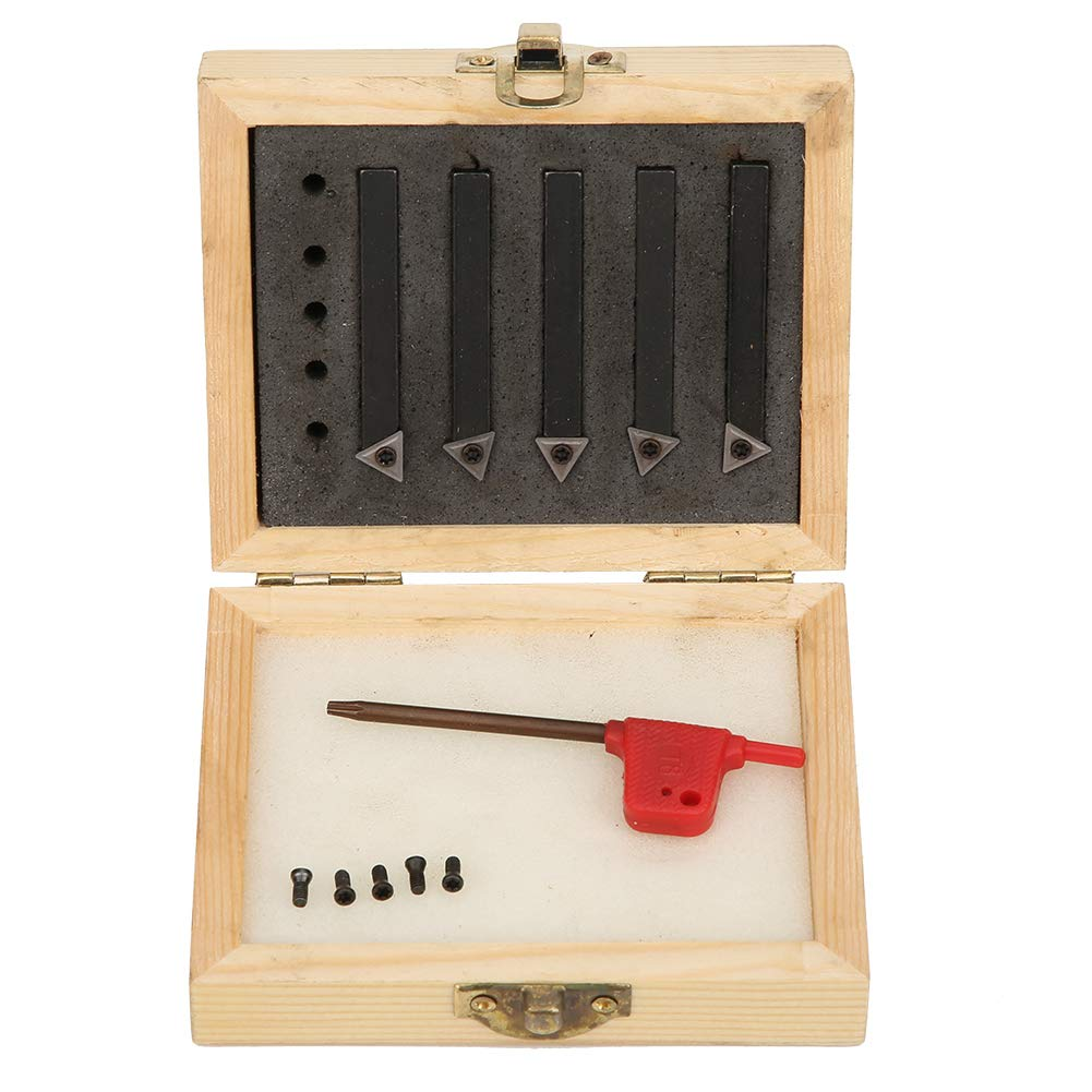 5Pcs 1 4in Clearance Max 69% OFF SALE Limited time Indexable Turning Set Lathe Holder Tool