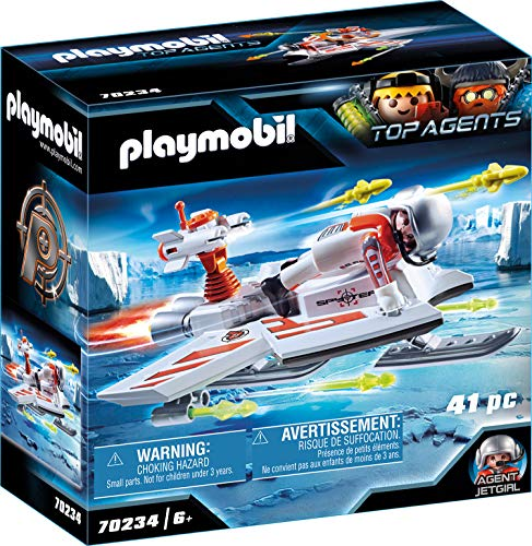 PLAYMOBIL TOP AGENTS 70234 Spy Team Fluggleiter, ab 6 Jahren