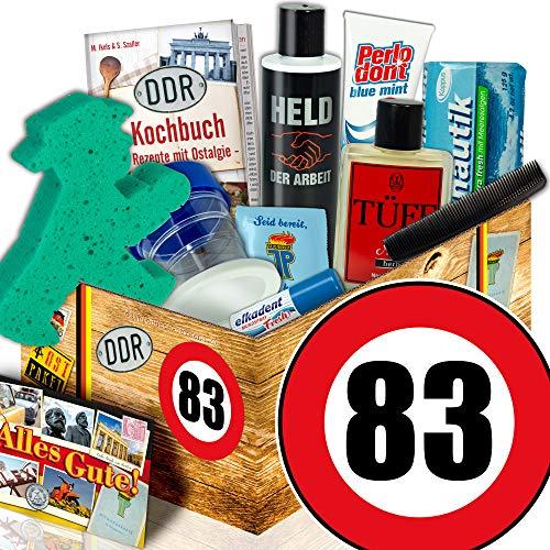 Männer DDR Pflegebox / 83. Geburtstag / Geschenke fuer Mann