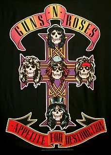 Guns N Roses Appetite for Destruction Fabric Poster 30 x 40in