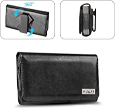 J&D Holster Compatible for Samsung Galaxy A90 5G/A60/A51/S10 Plus/S9 Plus/S8 Plus/J4 Plus/J7 Max/A21 Holster, PU Leather P...