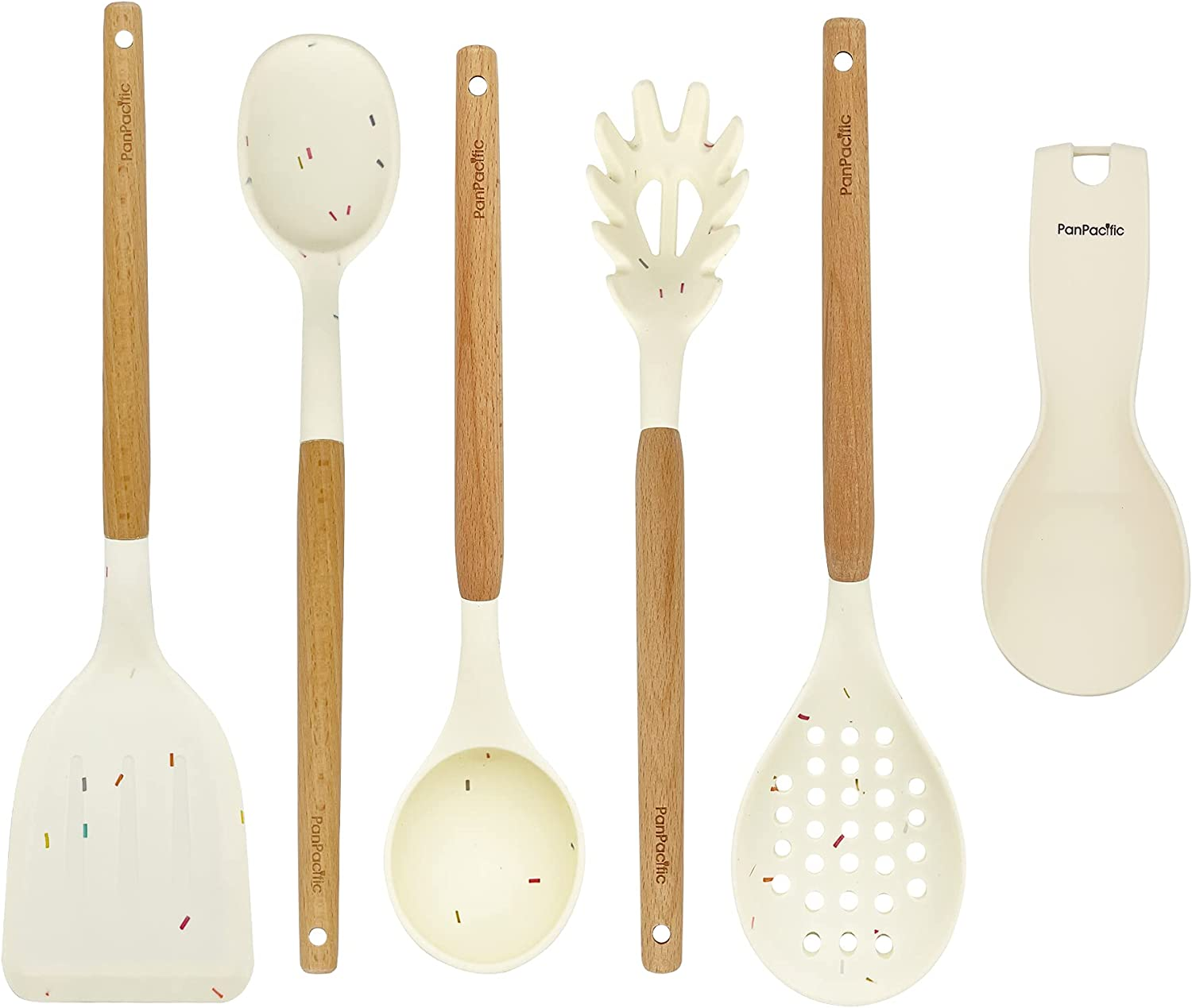 Panpacific 2021 spring Max 54% OFF and summer new Silicone Cooking Utensils Set - kitchen