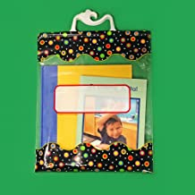 Creative Teaching Press 10 1/2 x 12 1/2 Inches Storage Bags, Dots on Black (2957)