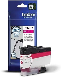 Brother Original Tintenpatrone LC 3237M Magenta (für Brother HL J6000DW, HL J6100DW, MFC J5945DW, MFC J6945DW, MFC J6947DW) ca. 1500 Seiten nach ISO Standard 24711