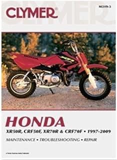 Clymer Repair Manual for Honda XR50R/70R CRF50R/70F 97-05