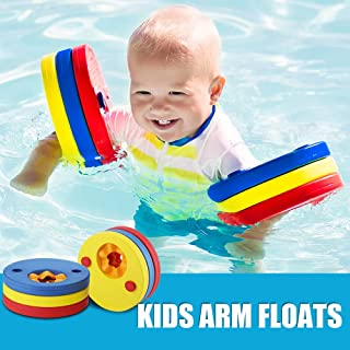 Makone Kids Arm Float Discs, Swim Arm Brand Set Swimming Armbands for Pool (6 pcs/Set)