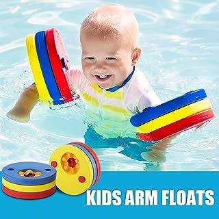 Makone Luchild Kids Arm Float Discs Swim Arm Brand Set Swimming Armbands for Pool (6 pcs/Set)
