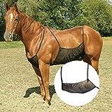 Yunhigh Protezione per zanzariera Protezione per zanzariera in Rete Protezione Anti-zanzara Confortevole per l'addome del Cavallo