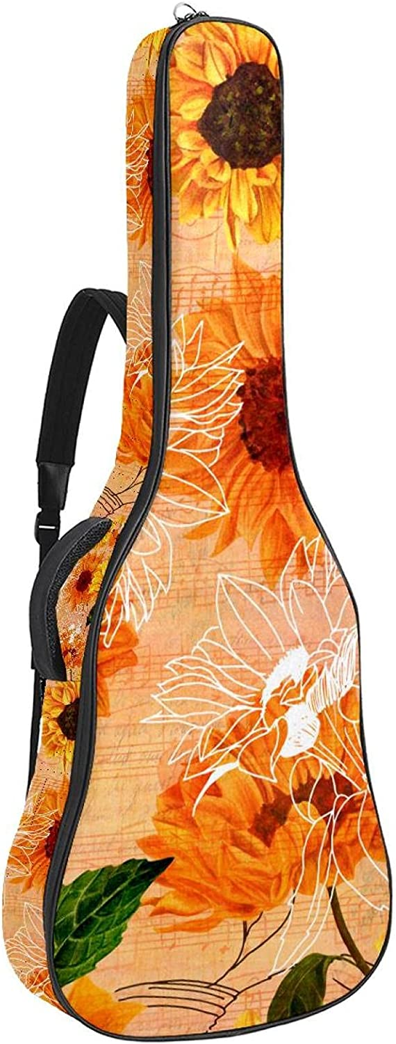 Electric Guitar Bag Padded Gig Adjustable Sh Low price Acoustic 67% OFF of fixed price