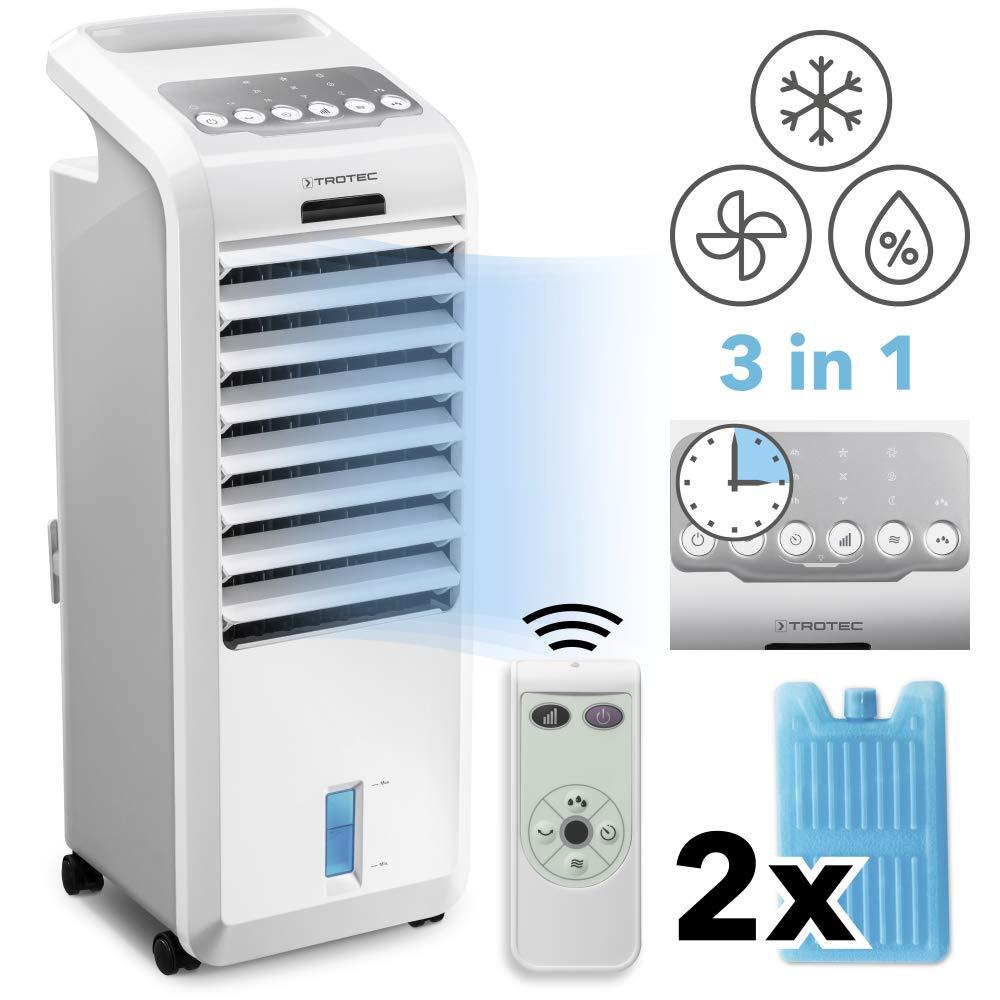TROTEC Climatizador Portátil Frío PAE 26 / Ventilador de Torre / 3 ...