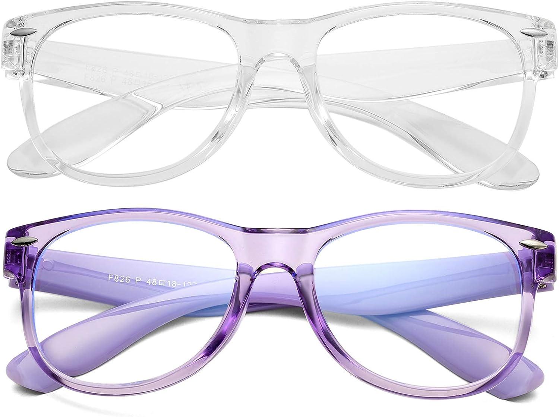 Braylenz 2 Pack Kids Finally specialty shop popular brand Blue Light Boys Ant Blocking Glasses Girls