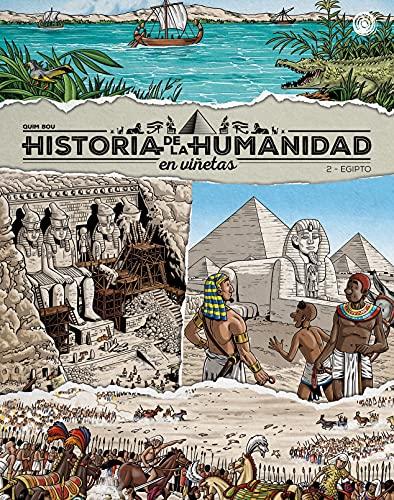 Historia de la humanidad en viñetas: Egipto (ESPIRAL DIDACTICO)