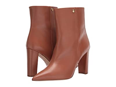 Tory Burch 90 mm Penelope Bootie (Tan) Women