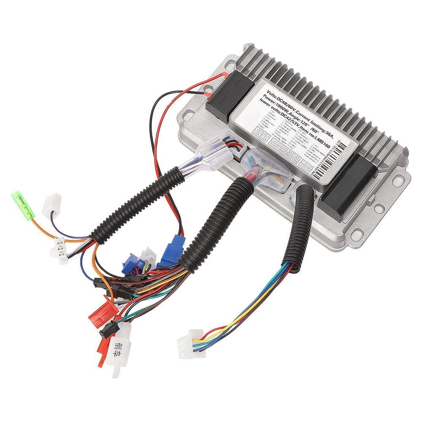 ギャング説教モーターブラシレスコントローラーの正弦波3モードブラシレス電気コントローラーDCモーター速度制御の部品