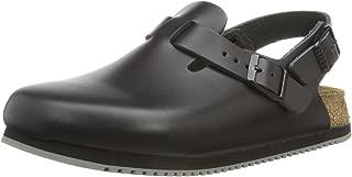 Birkenstock Clogs ''Tokyo'' from Leather in Black 35.0 EU N