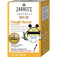 Deals on Zarbees Naturals Baby Cough Syrup with Agave & Thyme 2oz