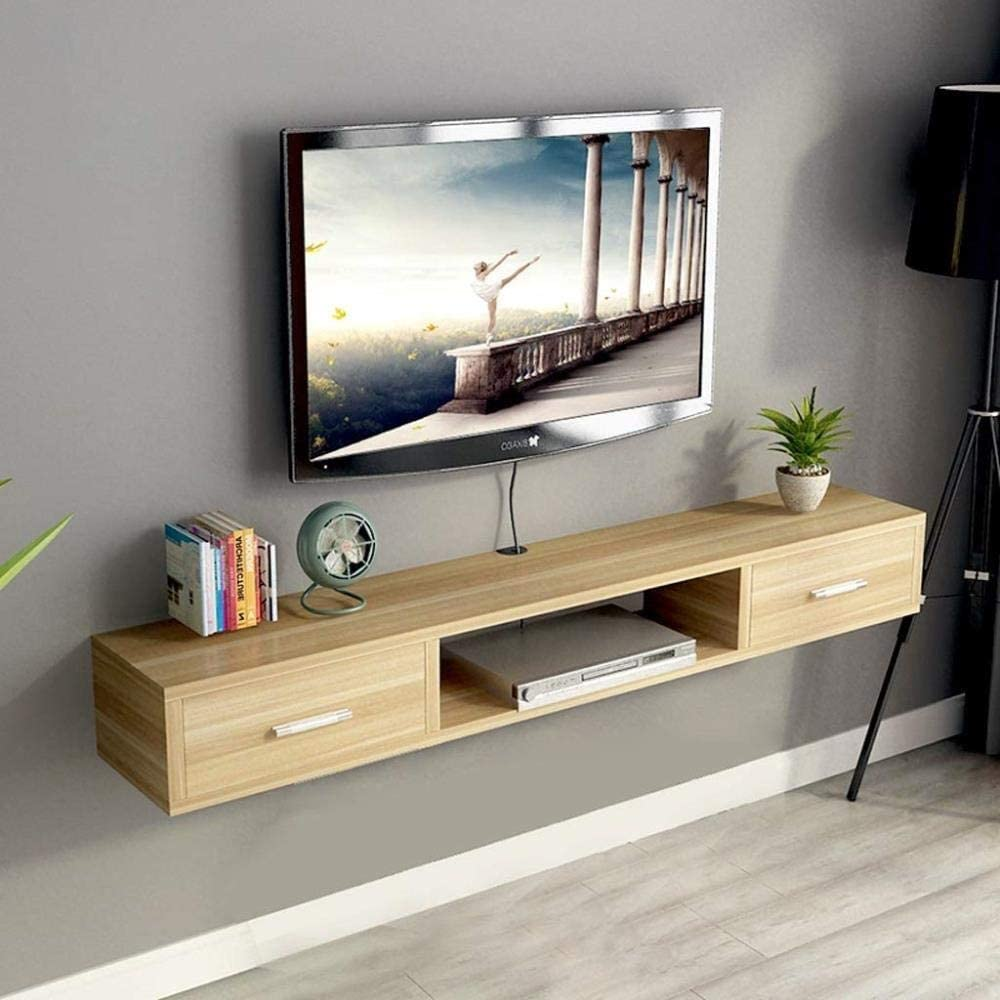 JIGUANG Flower Pot Rack Wall-Mounted Floating Japan Maker New Cabinet Tv Super intense SALE w Shelf