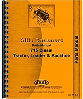 New Parts Manual for Allis Chalmers 715 Tractor Loader Backhoes