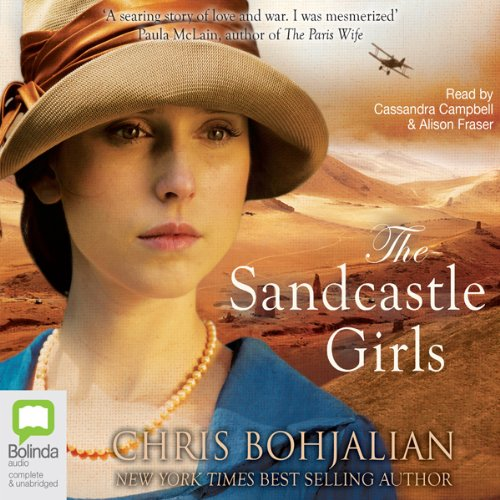 The Sandcastle Girls audiobook cover art