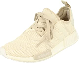 adidas Originals NMD_R1 Womens Running Trainers Sneakers (UK 8 US 9.5 EU 42, Linen Off White CG2999)