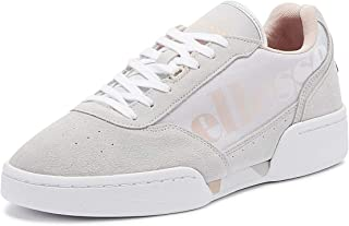 Ellesse Piacentino Womens Grey/Pink Suede Trainers