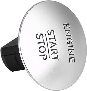 SANON Keyless Go Start Stop Druckknopf Motor Zündschalter für Mercedes S 2215450714 Silber