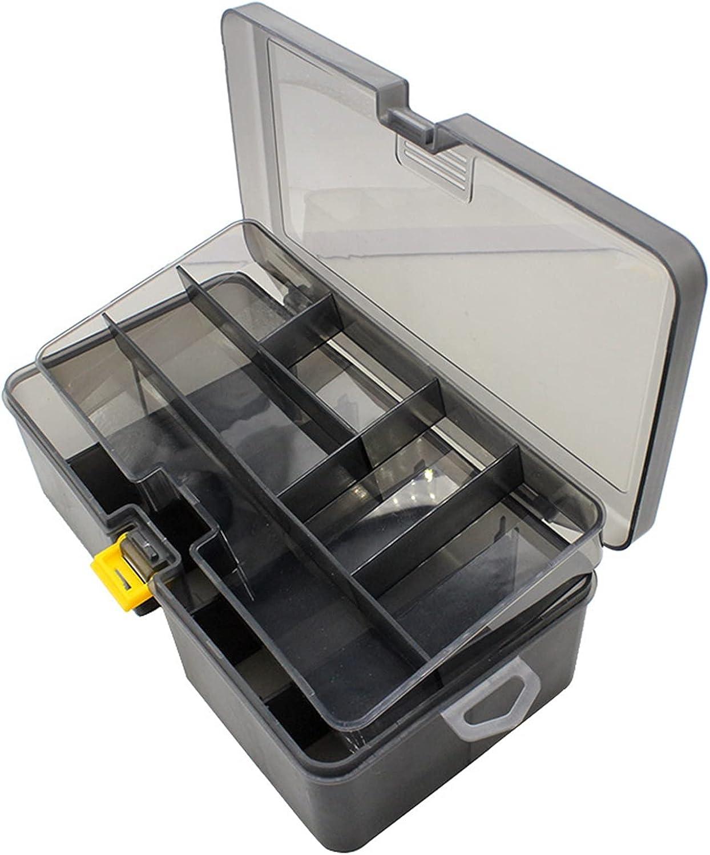 Xu Yuan Jia-Shop 1Pc Plastic Double Layer 4 years warranty Waterproof Box Tool Manufacturer OFFicial shop
