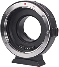 Viltrox EF-M1 Lens Adapter Ring Mount AF Auto Focus Aperture Control VR Stabilization for Canon EF/EF-S Lens to M4/3 Micro Four Thirds Camera for Panasonic GH5/4/3 Olympus