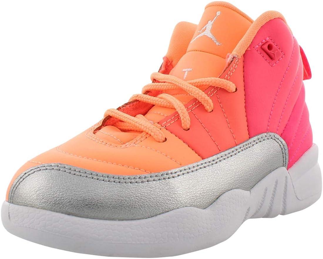 Amazon.com   Jordan Retro 12 PS Girls Shoes   Basketball