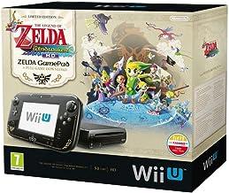 Console Nintendo Wii U 32 Go Noire - 'The Legend Of Zelda: Wind Waker Hd' - Édition Limitée Premium Pack [Importación Francesa]