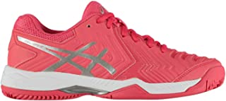 Official Brand Asics Gel Game 6 Clay Womens Tennis Shoes Trainers Ladies Sports Footwear