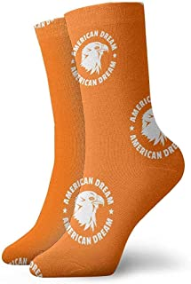 iuitt7rtree American Dream Eagle Pattern Athletic Calcetines Casuales para Correr