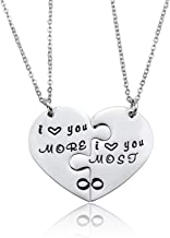 LIUANAN Inspirational Necklaces for Women Stainless Steel Necklace Engraved for Birthday Gift