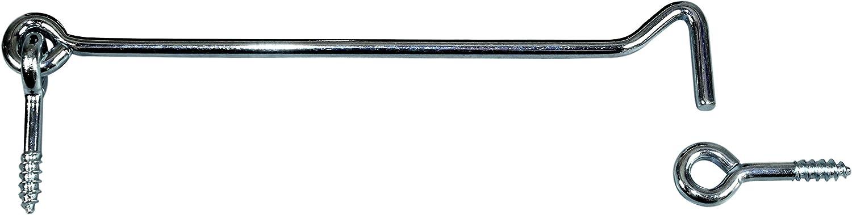 Mengen- und L/ängenauswahl m/öglich mit /Öse L/änge von 80 bis 300mm zur Auswahl 1, L/änge: 80mm SN-TEC Edelstahl Sturmhaken//Lukenhaken // /Überwurf rostfrei A2