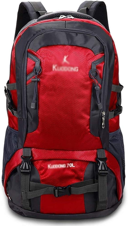 Reiserucksack Mnner und Frauen groe Kapazitt Freizeitsport Camping Bergsteigen Tasche (Farbe   B)