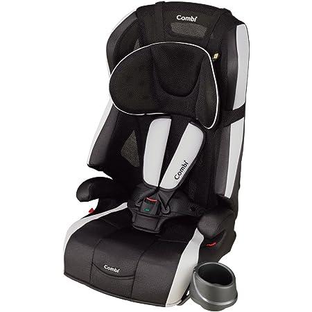 Combi(コンビ) シートベルト固定 チャイルド&ジュニアシート 1歳頃から11歳頃まで ジョイトリップ エッグショック S GG トリノブラック エッグショック搭載のシンプルモデル