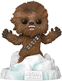 Funko Pop! Deluxe Star Wars: Battle at Echo Base Series ? Figura de vinilo Flocked Chewbacca Exclusivo, Figura 3 de 6