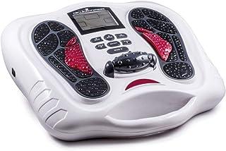 Electroflex Circulation Massager, EMS, Corriente Estimulante de dispositivo de estimulación, TENS booster, con función de masaje de infrarrojos, Masaje de pies, incluye 4 Gel Pads