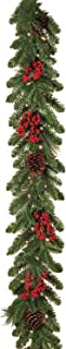 Best 6ft pre-lit garland with cones & berries Reviews