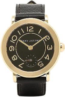 [マークジェイコブス] 時計 MARC JACOBS MJ1471 RILEY ライリー レディース腕時計ウォッチ ブラック/イエローゴールド [並行輸入品]
