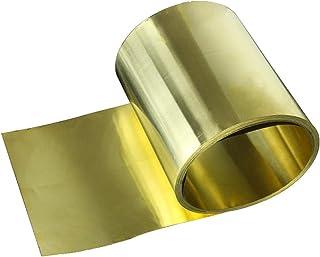Jardin, Shuxiang-Sheet Metal Feuille dacier Inoxydable en Acier Inoxydable 304 en Acier Inoxydable Feuille de Feuille de Plaque 0.1mm * 100mm * 1000mm for la Fabrication de Moule 1PC pour Guitare