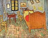 1art1 Vincent Van Gogh - El Dormitorio En Arlés, 1889 Póster Impresión Artística (50 x 40cm)
