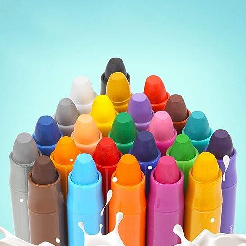 36 Farbe Kinder Buntstifte - Rotating Painted Oil Pastels - Buntstifte Spielzeug Waschbar Umweltfreundlich Ungiftig Buntstifte Set (Größe   36 Farbes)