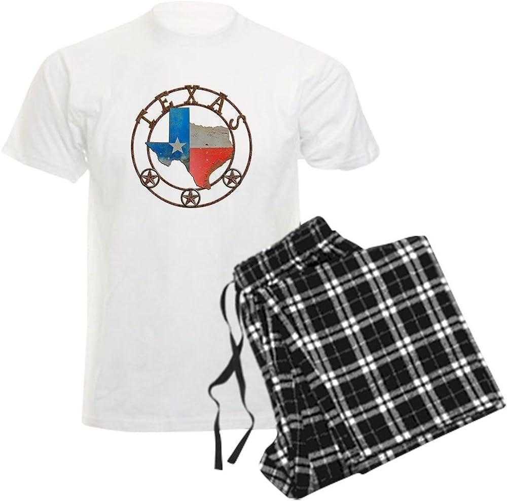 CafePress Texas Wrought Ranking TOP17 Ranking TOP4 Iron Barn Pajamas Set Pajama Art