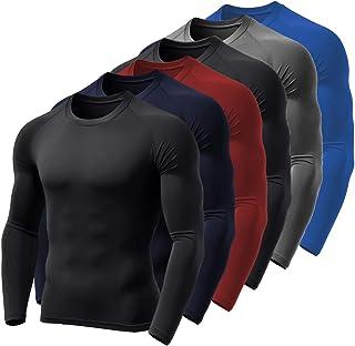 Kit 6 Camisa Térmica BOYOU Blusa Esquenta Proteção UV 50 Fps Compressão 037