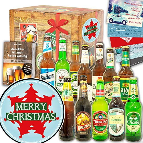 Weihnachtsbaum ++ Biergeschenk Welt und DE ++ Geschenk zu Weihnachten
