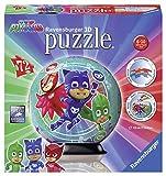 Ravensburger- Puzzle Ball 3D 72 Piezas, PJ Masks, Multicolor (11797)