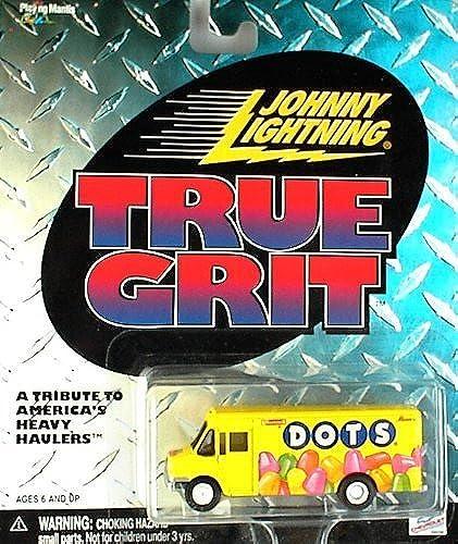 productos creativos Johnny Lightning blanco blanco blanco LIGHTNING True Grit Dots Snack Truck amarillo by Johnny Lightning  compras online de deportes
