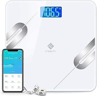 مقیاس چربی بدن هوشمند هوشمند هوشمند Smart Weight Weight - مقیاس وزن بی سیم دیجیتال دیجیتال، اندازه گیری نوار بدن شامل، 12 آنالیز ترکیبی ترکیب بدن با برنامه، 400 کیلوگرم (180 کیلوگرم)