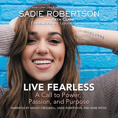 Live Fearless audiobook cover art